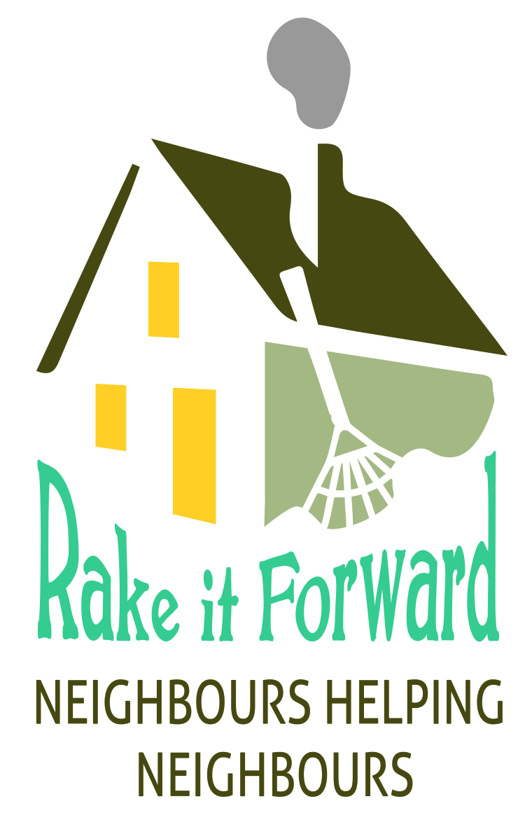 """Rake it Forward"" this spring."