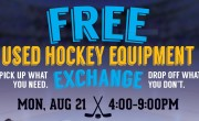 FREE Used Hockey Equipment